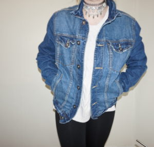 Aeropostale Denim Jacket | My Winter Coat Collection 2016