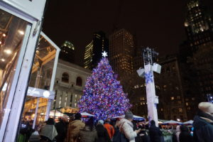 Christmas in New York - Bryant Park