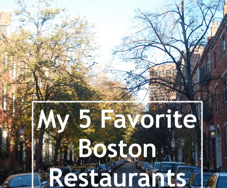Restaurants in Boston